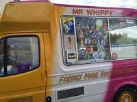Ford Transit Ice Cream Van Carpigiani Machine