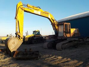 Case 125B Track hoe