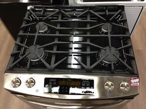 GE Gas Range Stove - Stainless Steel