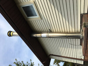 Fireplace Stove / Chimney Pipe - Insulated