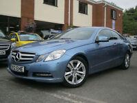 2012 12-Reg Mercedes E350 3.5 Blue F 7G-Tronic SE Edition Coupe,RARE PETROL!