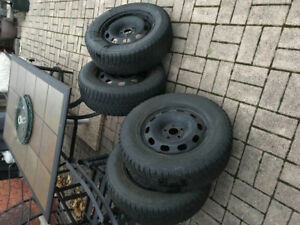 Nokia's snow tires for vw golf Jetta beetle