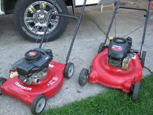 TWO  GAS  LAWNMOWER