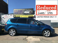 2008 FORD S-MAX 2.0TDCi 140 TITANIUM 7 SEATER ( AA ) WARRANTY PACKAGE INCLUDED