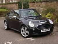 EXCELENT SPEC!! 2006 MINI HATCH 1.6 COOPER S 3dr CONVERTIBLE, FULL LEATHER,