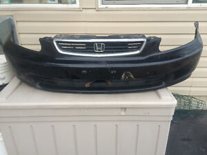 1996 1997 1998 Honda Civic Front Bumper cover with Grille Strathcona County Edmonton Area image 1