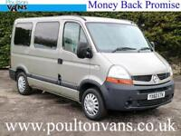 2011 (60) RENAULT MASTER SL28 SWB 5 SEAT WHEELCHAIR / DISABLED ACCESS MINIBUS