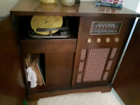1940s stereo cabinet