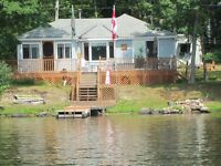 Lake Nipissing island cottage
