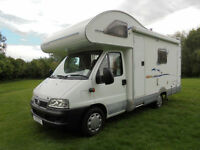 Swift Sundance 600S Very LOW MILEAGE 4 Berth Family Motorhome For Sale