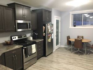 Available Immediately. lower level suite in greens