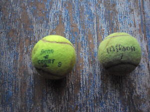 For Sale: tennis balls