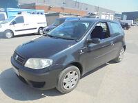 Fiat Punto 1.2 8v Dynamic 3 DOOR - 2004 04-REG - 3 MONTHS MOT