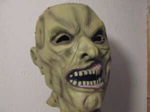 "Vintage RUBIES ""Staples"" Halloween Monster Mask"