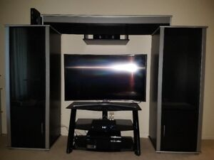 Entertainment Unit, Coffee Table & TV Stand include