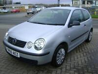 Volkswagen Polo 1.2 ( 55bhp ) 2005MY E SEVEN STAMPS NOT 'APPY