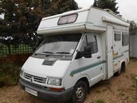 Elddis Eclipse 4 Berth Motorhome with Rear Lounge and Over Cab Bed