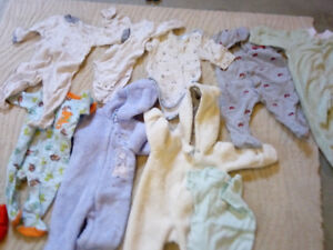 Boys and girls clothes o to 12 months