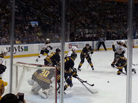 FS 2 Buffalo Sabres tickets 5 rows from the ice!!!!!