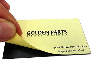 250 Self-Adhesive Peel-and-Stick Business Card Size Magnets