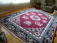 rugs in like new condition