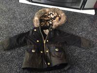 River island girl coat 0-3 months
