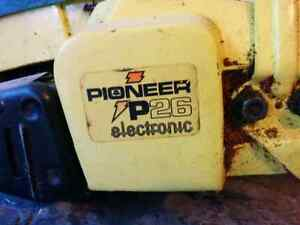 Pioneer P26 Chainsaw - Fuel Line Issue