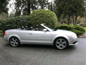 Audi A4 Convertible…Like New without the Price