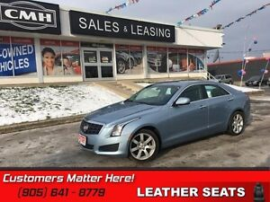 2013 Cadillac ATS 2.5   SUNROOF, LEATHER, BOSE, NEW TIRES!
