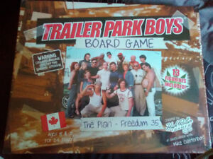 Discontinued: Trailer Park Boys board game The Plan Freedum 35