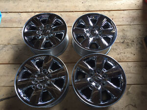 "2012 18"" Chevy Silverado chrome rims"