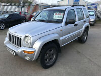 Jeep Cherokee 2.5 CRD Limited - 2001/51 - ONLY 116K - GREAT SPEC - OCTOBER MOT -
