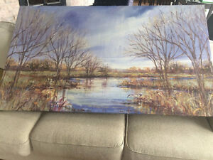 Beautiful Large  Canvas painting