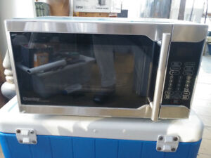 Danby Stainless Steel Microwave. 0.7 cu ft. New and unused.
