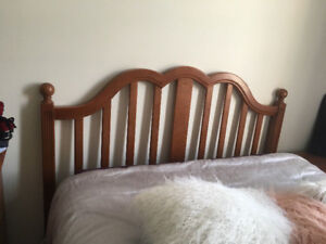 REDUCED: Solid Maple Bedroom Set