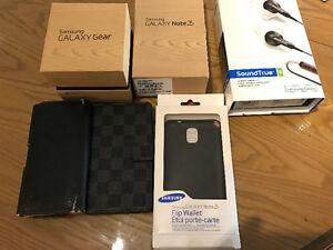 Samsung Note 3 + Accessories