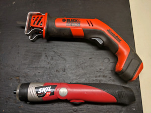 Power Screwdriver and Handisaw