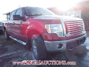 2010 FORD F150 XLT SUPERCREW 4WD