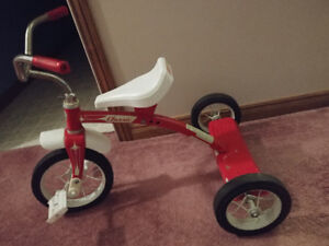 Kids tricycle ...red classic