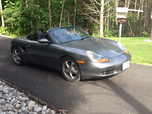 2002 Porsche Boxster leather Convertible