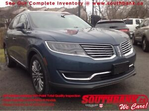 2016 Lincoln MKX ReserveAWD, Power Liftgate, Leather, Ventilated