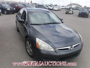 2007 HONDA ACCORD EX 4D SEDAN V6 EX