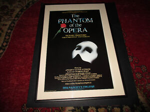 Vintage The Phantom of Opera Poster-Her Majestys Theatre-- Rare