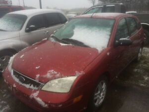 2005 Ford Focus cert- e-test 2900$pls tax