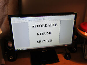 AFFORDABLE RESUME SERVICE: Serving London & area. London Ontario image 4