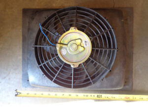 10 inch electric cooling fan and shroud