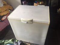 Whirlpool chest freezer 80cm / 800mm wide WORKS SPOT ON. Collection from Rotherham central