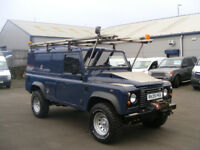 Land Rover Defender 2.4TD 90 STATION WAGON (blue) 2009