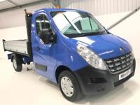2014 RENAULT MASTER TIPPER 2.3dCi 3.5T 125 MWB LOW MILEAGE SINGLE CAB ALLOY SIDE