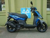 Sym Crox 125cc Air Cooled Euro 4 Scooter With 5 Year Warranty 01634 811757